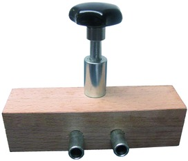 Bohrlehren für ANUBA-Stahlzargenbänder