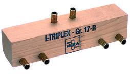 Gabarit de perçage et accessoires pour ANUBA-TRIPLEX