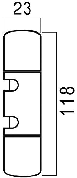 Douilles pour paumelles Top 320 et Top 320 Lift