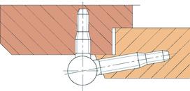 SASSBA 11 R Türbänder für Brandschutztüren VSSM EI30