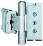 Paumelles pour portes d'entrées SIMONSWERK BAKA protect 3D et 3D FD