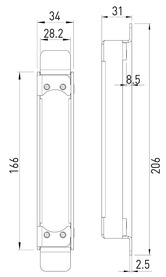 Sous-constructions GLUTZ pour cadre métallique