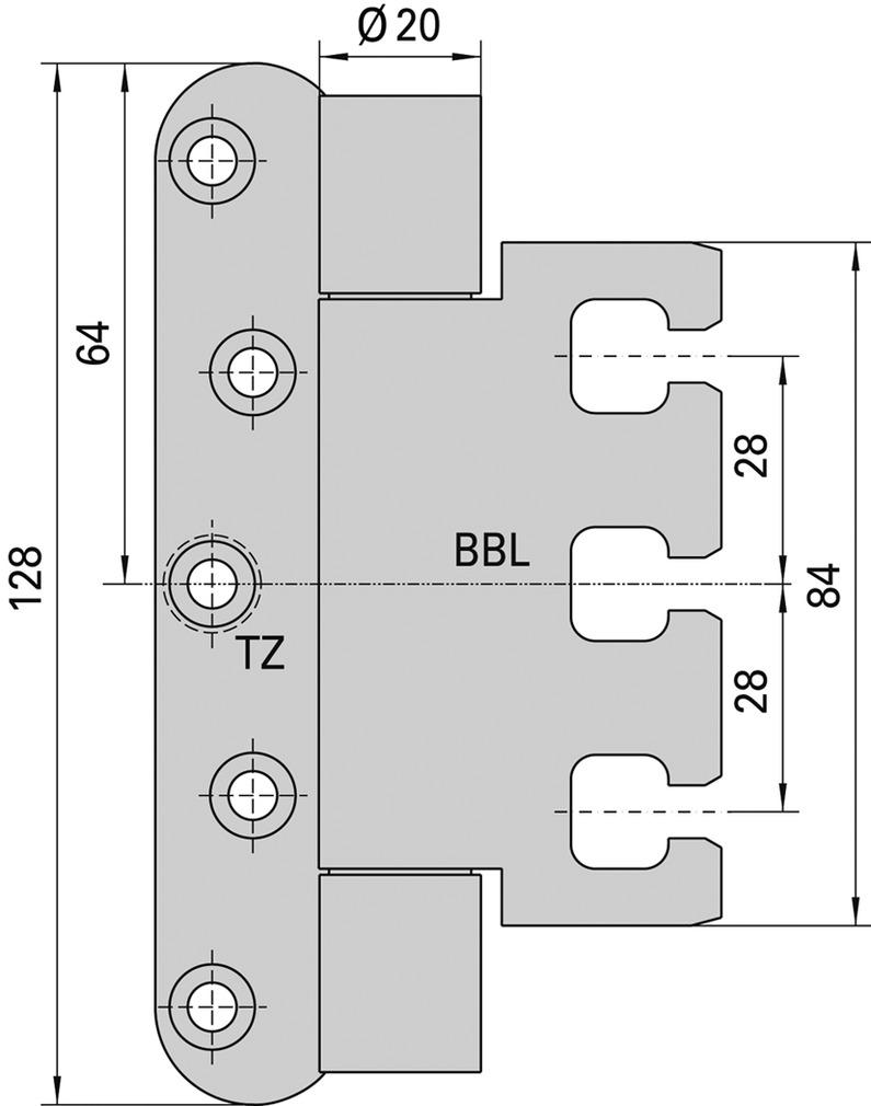 Cerniere-pomelle SIMONSWERK VARIANT VX 7939