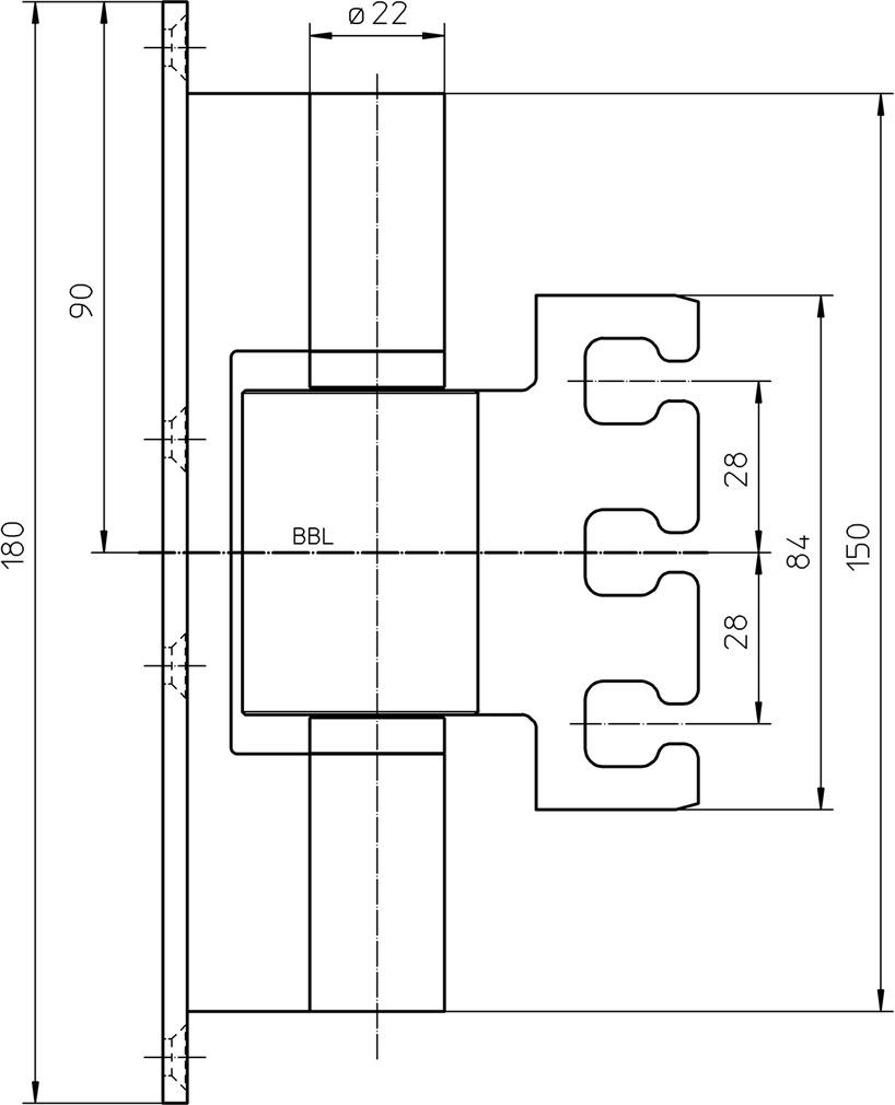 Protection anti-pincement SIMONSWERK VX 7099