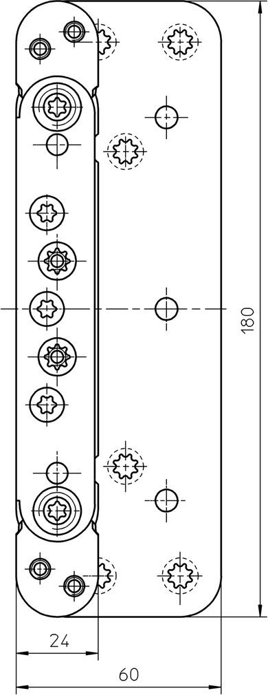 Aufnahmeelemente SIMONSWERK VARIANT VX 7535 3D