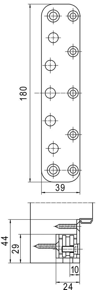 Plaques de recouvrement SIMONSWERK VARIANT VX 75