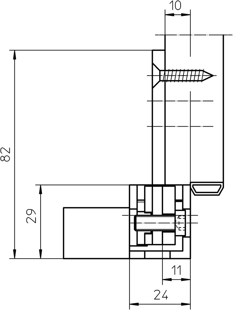 Sous-construction SIMONSWERK VARIANT VX 2502 3D N