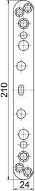Plaques de recouvrement SIMONSWERK VARIANT VX 25
