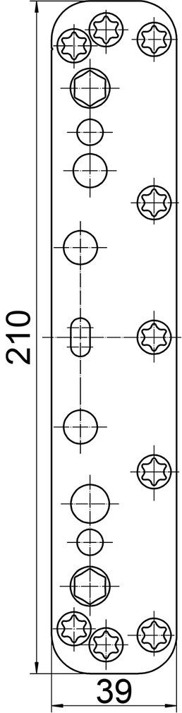 Placchette di copertura SIMONSWERK VARIANT VX 25