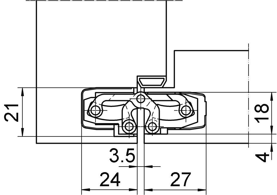Objektbänder SIMONSWERK TECTUS TE 240 3D