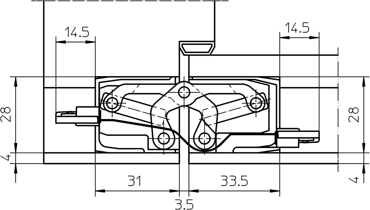 Paumelles SIMONSWERK TECTUS TE 340 3D Energy