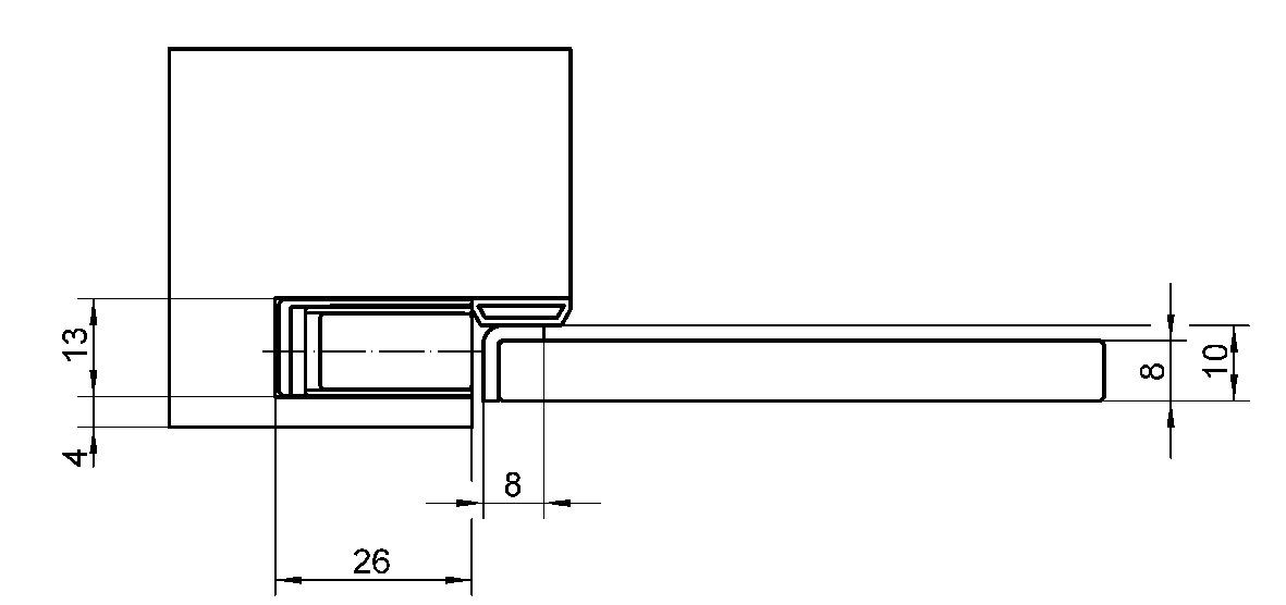 Magnete di chiusura SIMONSWERK KC 50