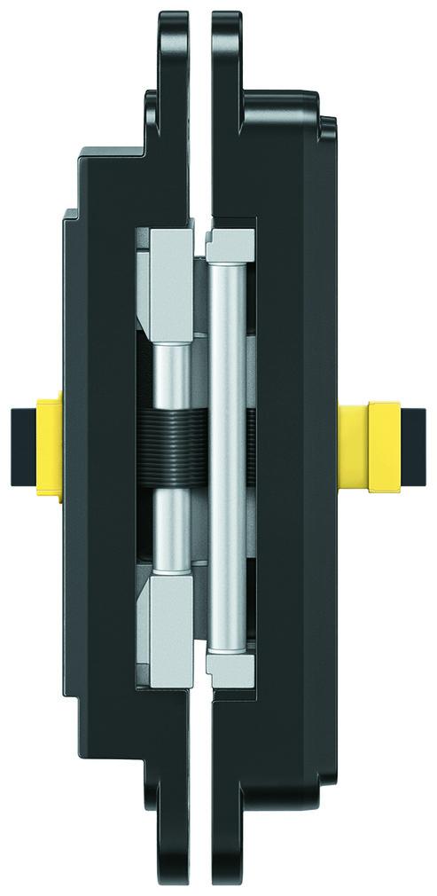 Paumelles SIMONSWERK TECTUS TE 640 3D Energy