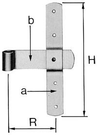 Tür-Mittelbänder
