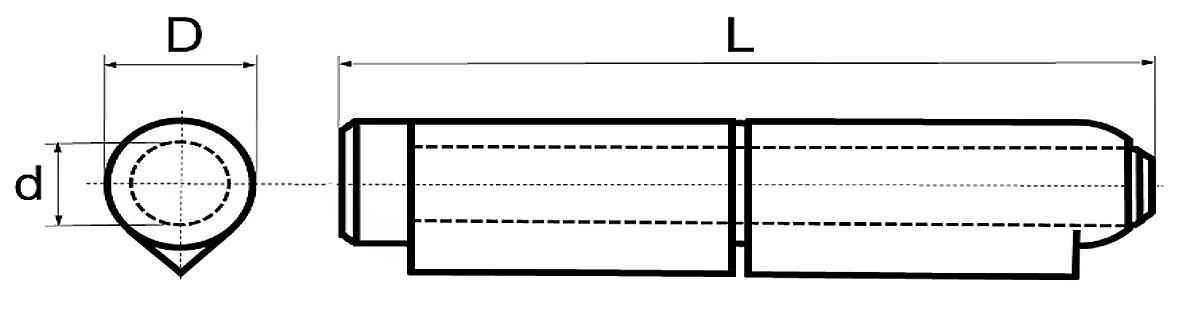 Paumelles à souder BRINER type 25