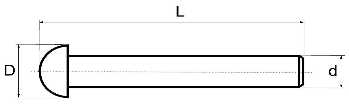Tiges mobiles en laiton BRINER type 47