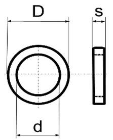 Rondelles en laiton BRINER type 50