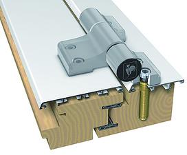 Cerniera legno/allu Hahn serie 4 / A 975