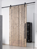 Komplett-Set Stahlschiebetürbeschläge für Holztüren