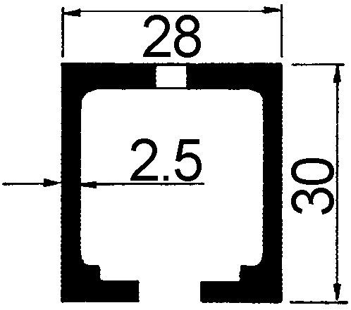 Rails pour  HAWA-Junior 40 Z/B/GL/GP/GS