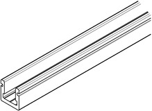 Rails de guidage pour HAWA-Aperto 60/H, 60/GL et HAWA-Puro
