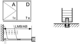 Schiebewandbeschläge HAWA-Aperto 60/H