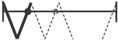 Grundgarnitur HAWA-Variofold 80/H  mit Drehlager und Führung