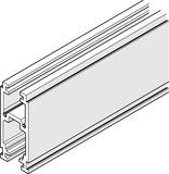 Rails pour HAWA-Frontslide 60/A