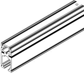 Rails pour HAWA-Frontslide 60/matic