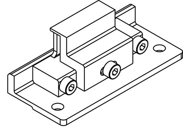 Pezzi complementari, HAWA-Frontslide 60/matic-Symmetric