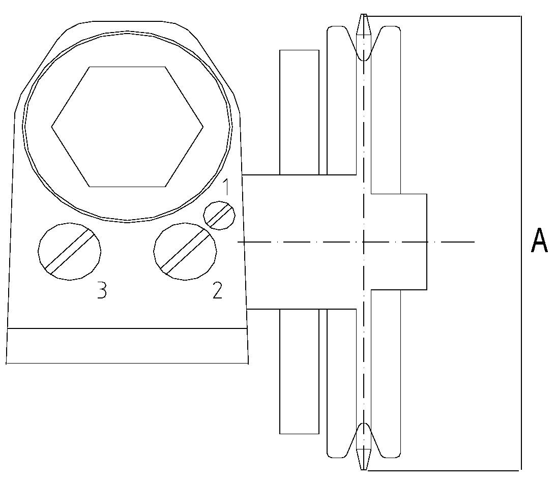 Ferme-porte pour porte coulissante hydraulique STS
