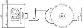 Hydraulik Schiebetür-Schliesser STS
