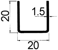 Rotaie di guida da pavimento GEZE-APOLL