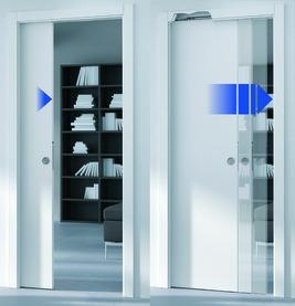 RALLENTY SOFT pour portes avec mécanisme de fermeture automatique (UNICO)