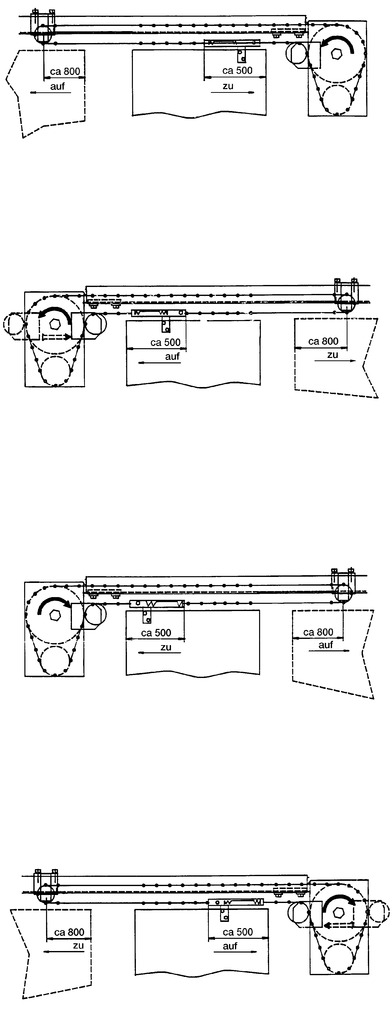 Commandes de porte DICTATOR Dictamat 650
