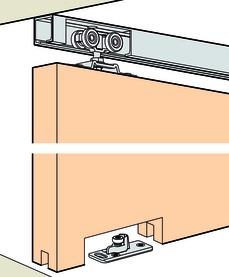 Ferrements pour portes coulissantes EKU-PORTA 60 H