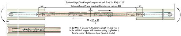 Zusatz-Garnitur für Synchro-Varianten EKU