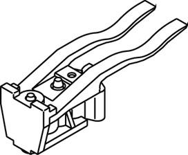 Ripulsore per rotaie con forza di arresto regolabile EKU