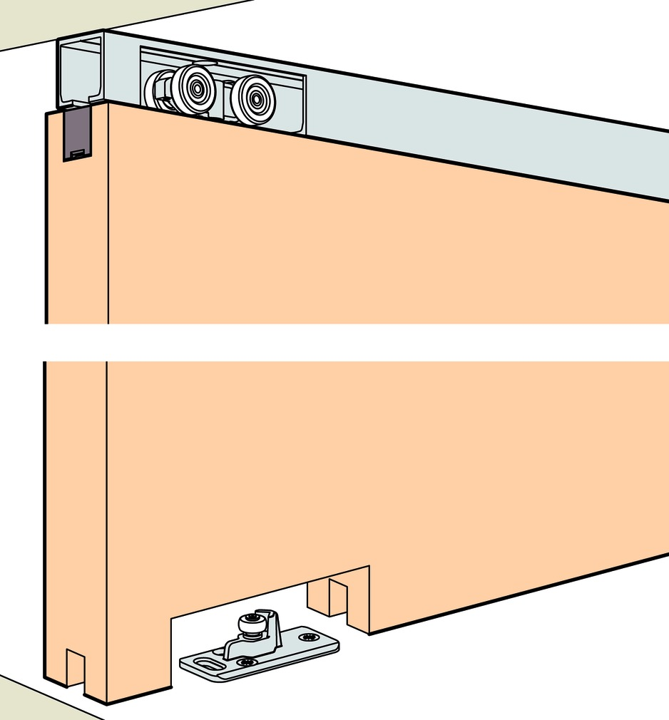 Kit completo EKU-PORTA 60/100 HM