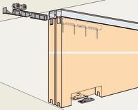 Ferrements pour portes coulissantes EKU-DIVIDO 100 HM