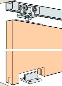 Ferrements pour portes coulissantes EKU-PORTA 300 H