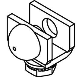 Schienenstopper mit Gummipuffer für EKU-PORTA 300 H