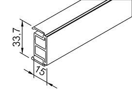 Profilo distanziatore HELM 53/73