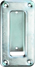 Poignée cuvette pour portes roulantes WEBI