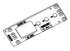 Plaques de montage pour ferme-porte GEZE TS 2000 V