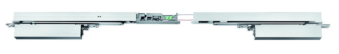 Glissière GEZE Boxer E-ISM pour portes à deux vantaux