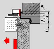 Placche di montaggio per guide di scorrimento G-N