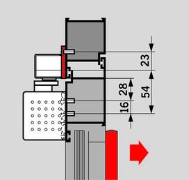 Set de plaques de montage pour glissières G-SR/BG