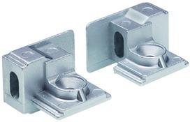 Embouts/Element de montage pour DORMA glissières G-N