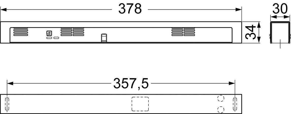 Centrale de détection de fumée DORMA RMZ/DCW design Contur